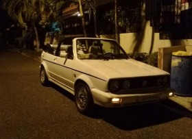 Volkswagen cabriolet 86