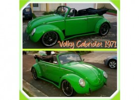 Volky Super Bettle Cabriolet Karman Cal-look