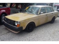 Volvo 244DL BMW mercedez