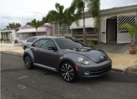 Vw Beetle 2012 se vendé cuenta sin traspaso