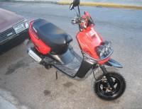 Yamaha 100biw Pasola Roja Nitida En San Pedro Macoriz
