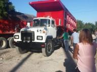 camion mack 2002 cara de niño