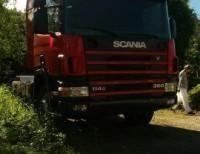camion scania un caballo de camion