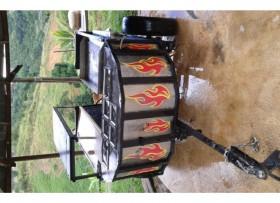carrito hotdog tripletas y mas
