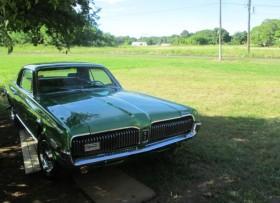 cougar verde 1968 en buenas condiciones