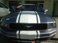 ford mustang gris 2006