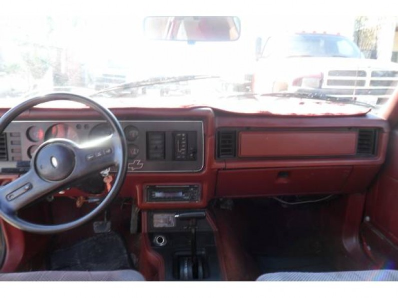 Ford Mustang Rojo 4 Cilindros 1985