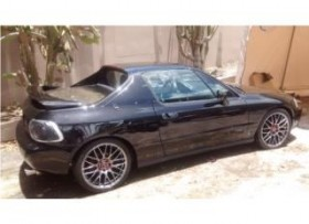 honda del sol 1993 turbo convertible como nue