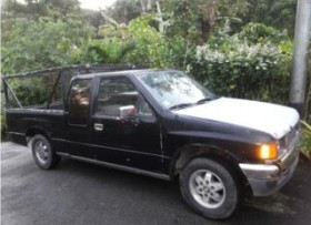 isuzu pickup 1990 cab y media 4 cilindros