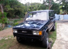 isuzu trooper 1992 4x4