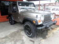 jeep wrangler 2006 dorado