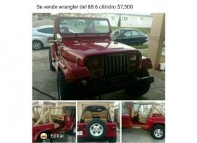 jeep wrangler del 88