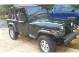 jeep wrangler yj 1993