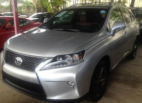 lexus rx 350 f 2015 nueva