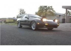 mazda rx7 convertible se cambia por mustangv8