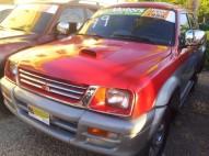 mitsubishi l200 1999 185000 mil pesos roja