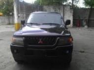 mitsubishi montero sport 2000 negra