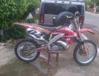motocross honda 2001 en santig