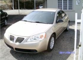 pontiac g6 2005 5995