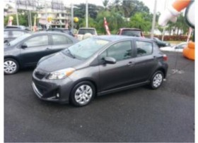 toyota yaris sin credito fin disponible