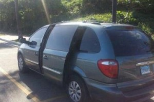 van chrysler town and country 2006