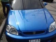 vendo carro honda civic 2000