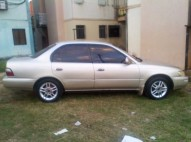 vendo toyota corolla 97 negociable