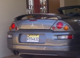vendo mitsubishi eclipse 2005 convertible