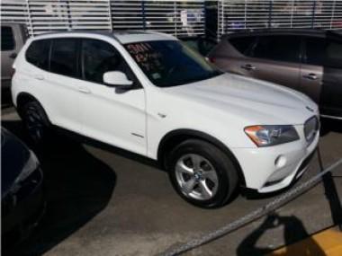 BMW X3 blanca con garantia de fabrica