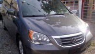 Honda Odyssey 2008 gris NITIDA