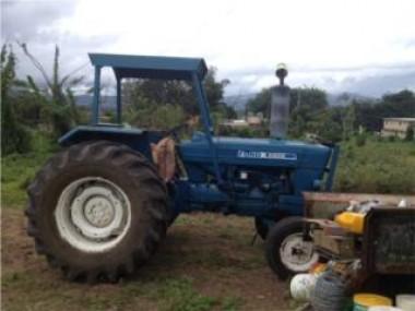 Tractor Ford 5600-Taladora y Aradora